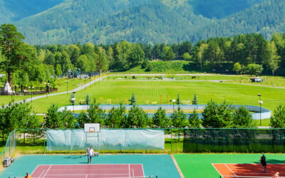 Mountain resorts with a tennis edge